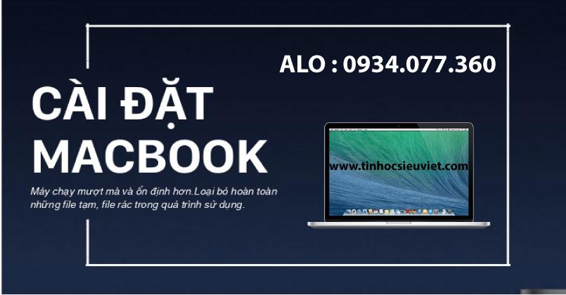 dịch vụ cài hệ điều hành Macbook, cài win, cài macOS nhanh chóng, uy tín