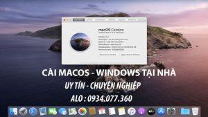 Cài hệ điều hành MacOS, hệ điều hành windows cho macbook, imac tại nhà quận 9, uy tín, chuyên nghiệp