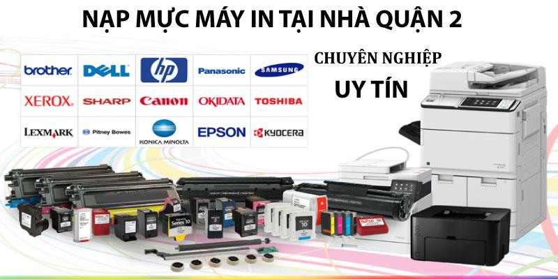 Dịch vụ nạp mực máy in tại nhà quận 2, nạp mực máy in màu, mực chính hãng, chất lượng hàng đầu