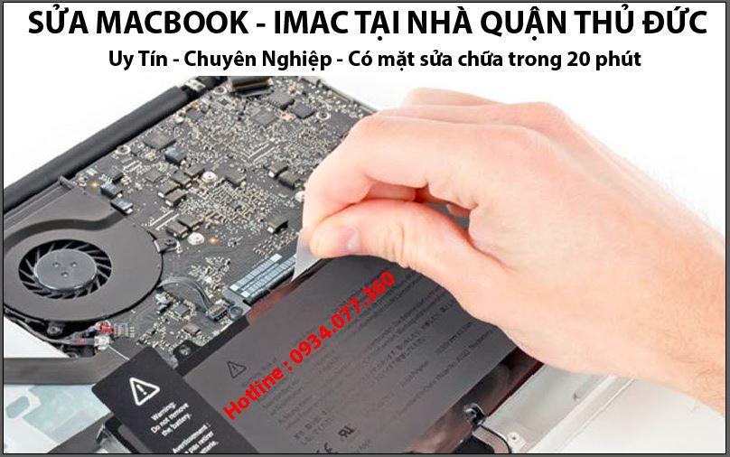 Dịch vụ sửa macbook tại nhà quận thủ đức, uy tín, chuyên nghiệp