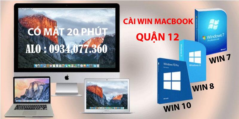 Cài hệ điều hành macbook, cài win macbook tại nhà quận 12, uy tín, chuyên nghiệp