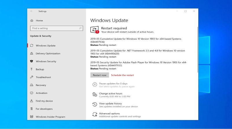 lỗi windows update và cách khắc phục nhanh chóng