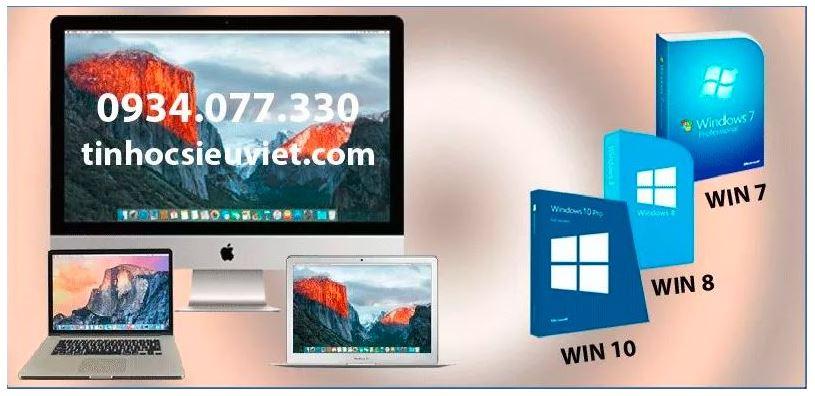 Cài hệ điều hành macbook, imac tại nhà nhà quận 6, uy tín, chuyên nghiệp, giá rẻ