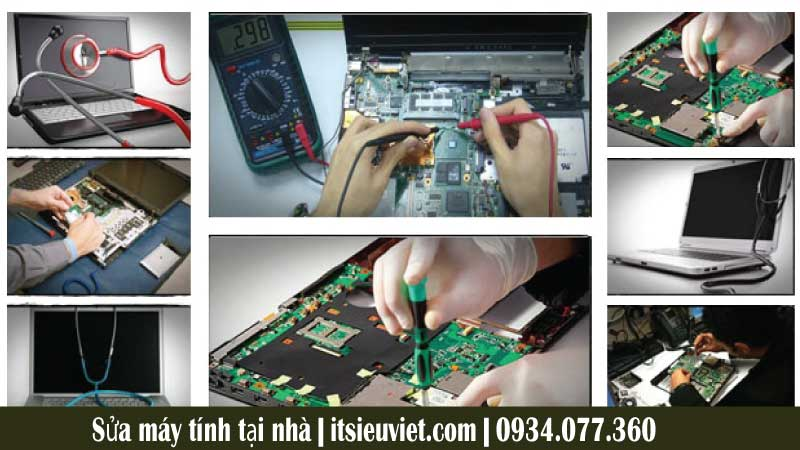 Sửa máy tính tại nhà quận Tân Phú