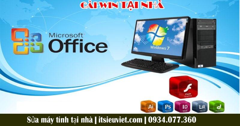 Đơn vị sửa máy tính tại nhà quận Tân Bình uy tín chất lượng Tin Học Siêu Việt