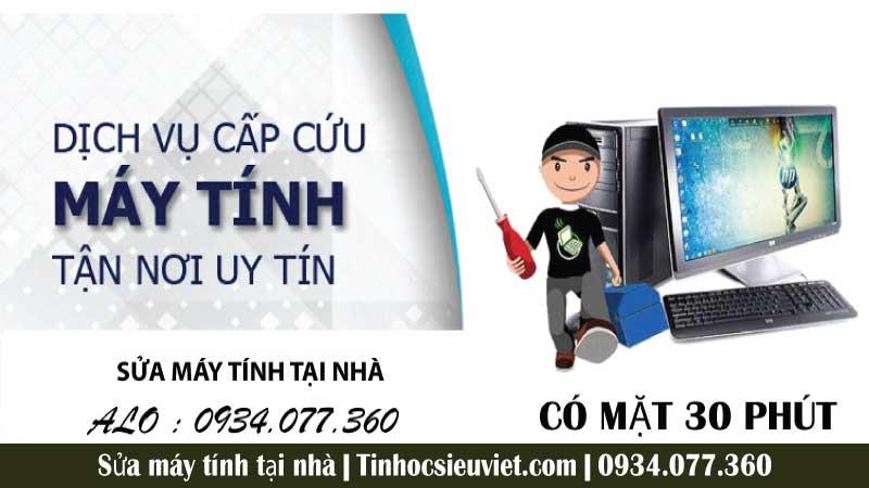 Dịch vụ sửa chữa máy tính của Tin Học Siêu Việt cam kết bảo mật cao