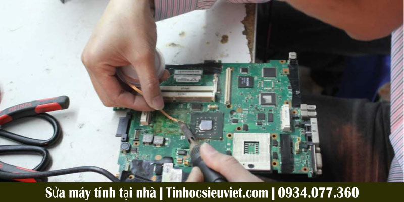 Trung tâm sửa máy tính tại nhà quận Phú Nhuận giá rẻ uy tín Tin Học Siêu Việt