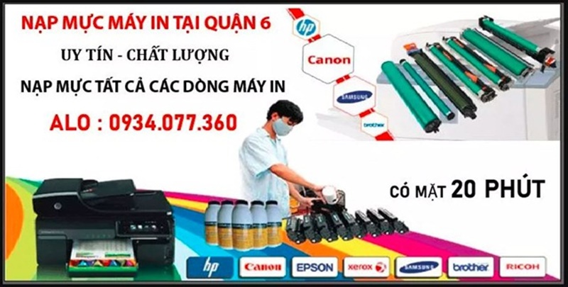 Tin Học Siêu Việt còn cung cấp dịch vụ nạp mực in tại nhà cho mọi loại máy