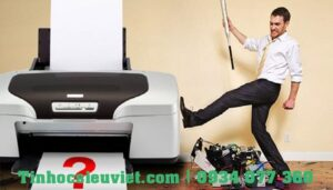 Lỗi máy in bị kẹt giấy